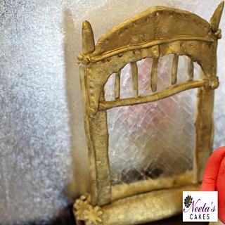 CPC Hogwarts Challenge 2017 Erised mirror - Cake by neetascakes