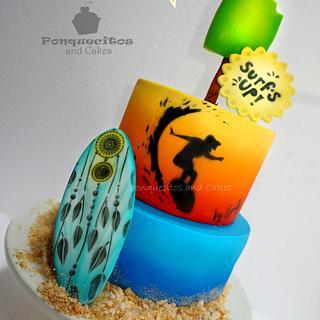 Surf´s up! Cake