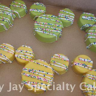 Mickey Mouse Paint Party Treats
