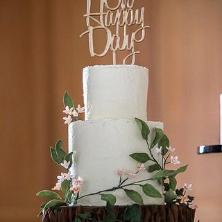Rustic wedding happy day