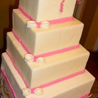 A WEDDING CAKE - Cake by Linda