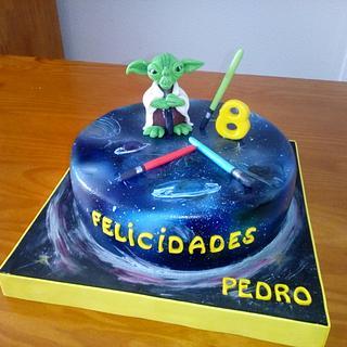 STAR WARS YODA'S CAKE - Cake by Camelia