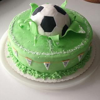 Soccer-cake - Cake by KaetvanKirsch