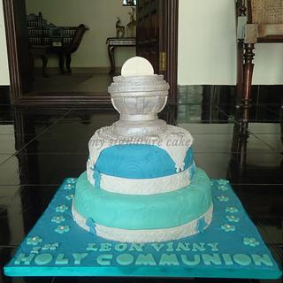 FIRST HOLY COMMUNION - Cake by MySignatureCakes