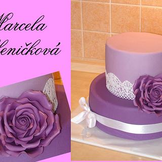 rose cake - Cake by MarcelkaS