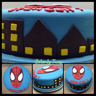 Spiderman Birthday Cake - Cake by Tracy