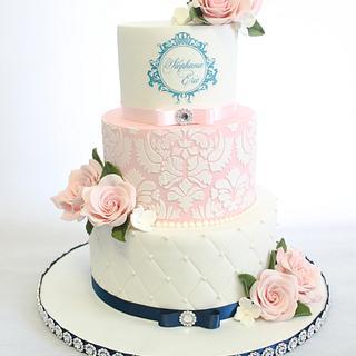 old english wedding cake