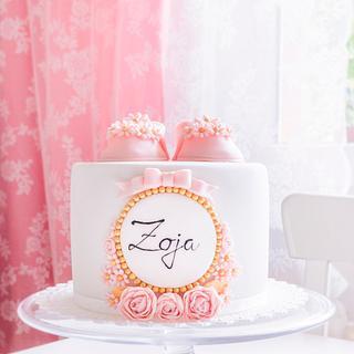 Zoja's Christening Cake