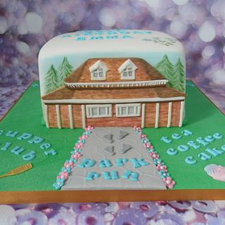 Pavilion cake - Cake by Karen's Cakes And Bakes.