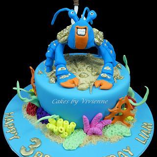 Tamatoa Birthday Cake - Cake by Cakes by Vivienne