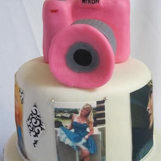 Photography Cake - Cake by ClaudiaG