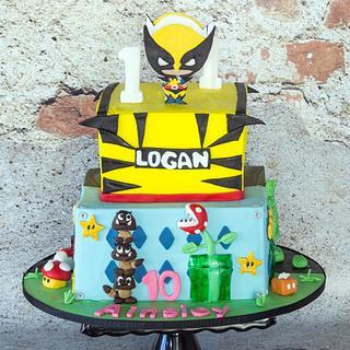 Wolverine, Super Mario and Fortnite