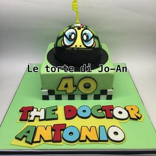 Valentino Rossi cake - Cake by Annunziata Cipullo