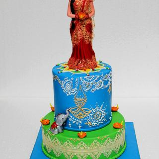 Diwali cake