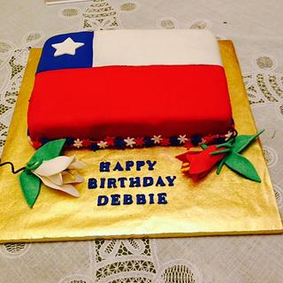 VIVA CHILE - Cake by Julia
