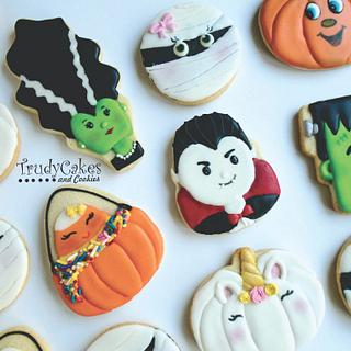 Halloween characters - Cake by TrudyCakes
