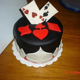 Poker Cake - Cake by Dana