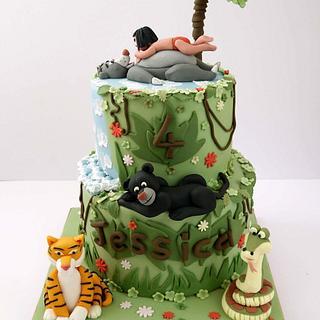 Jungle book cake