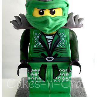 3D Lego Ninjago Green Ninja!