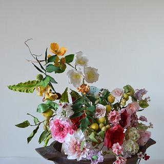 Sugar flower garden