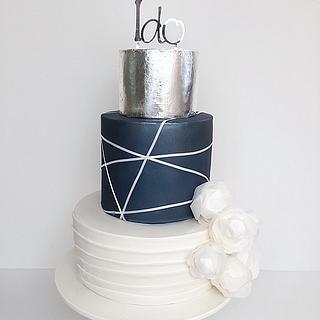 Handsome Wedding Cake