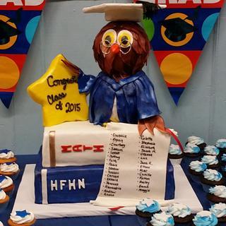 Graduation cake for all the classmates