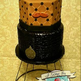 Steampunk Grooms Cake