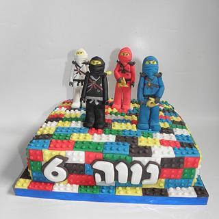 ningago lego cake