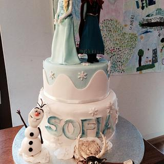 Frozen cake - Cake by Eleonora Del Greco