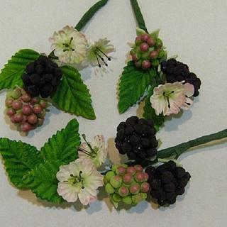 Gumpaste Summer Berries