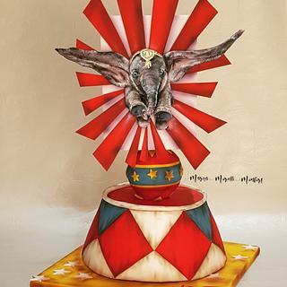 El circo de Dumbo - Cake by Marisa Morelli Monfort