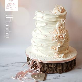 Wednesday weddingcake...