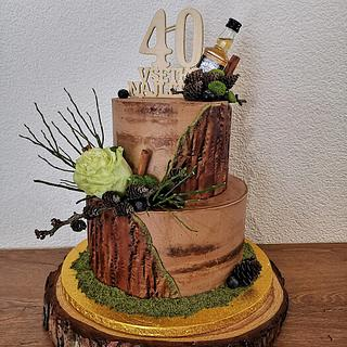 natural cake for men