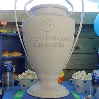 UEFA Champions League Cup 2016 Cake