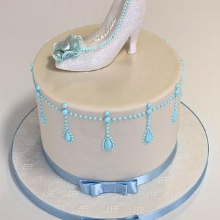 Cinderella Shoe Cake - Cake by Sweetie Darling- Billie