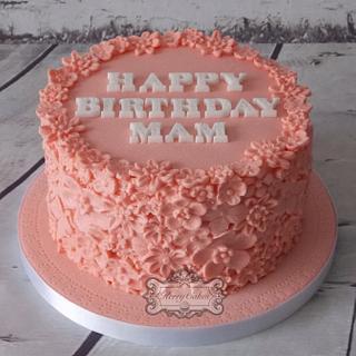 Flowers - Cake by kerrycakesnewcastle