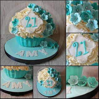 Tiffany Giant Cupcake