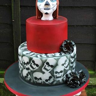 My skull 2015 - Cake by Zoepop