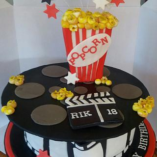 Going to the movies  - Cake by wba cakes
