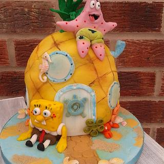 Who lives in a Pineapple under the sea......??