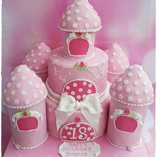 Castle cake  - Cake by Time for Tiffin
