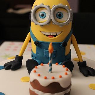 """""""Minion Cake"""""""