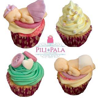 Baby shower cupcakes - Cake by Hannah Thomas