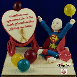 Superhero Caleb - Amore - a heart for children - Collaboration