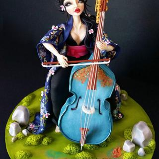 The Cello - Collaboration Music Around the World - Cake Notes