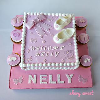 Baby shower cake - Cake by Shery Sweet