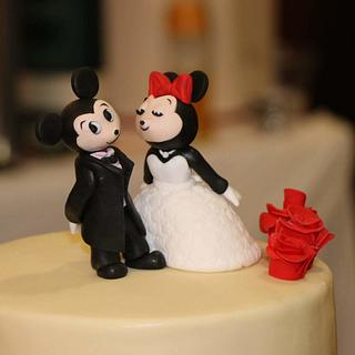 Сватбена торта - Cake by Bibi