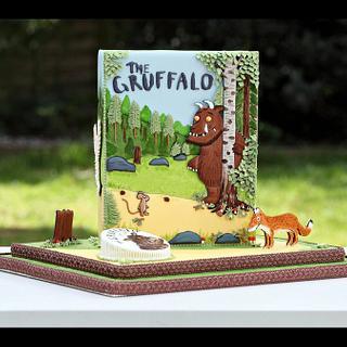Gold award winning Gruffalo cake