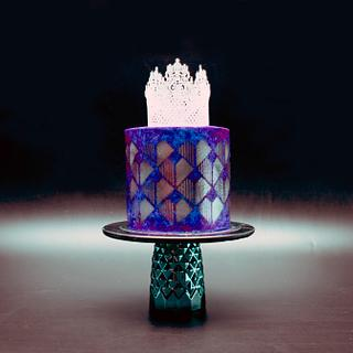 Love Violet - Cake by Le RoRo Cakes