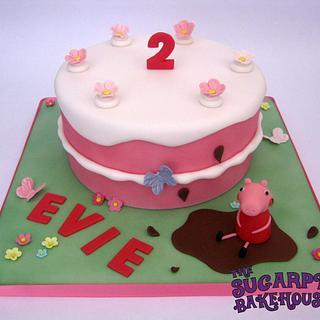 Peppa Pig Birthday Cake Cake!